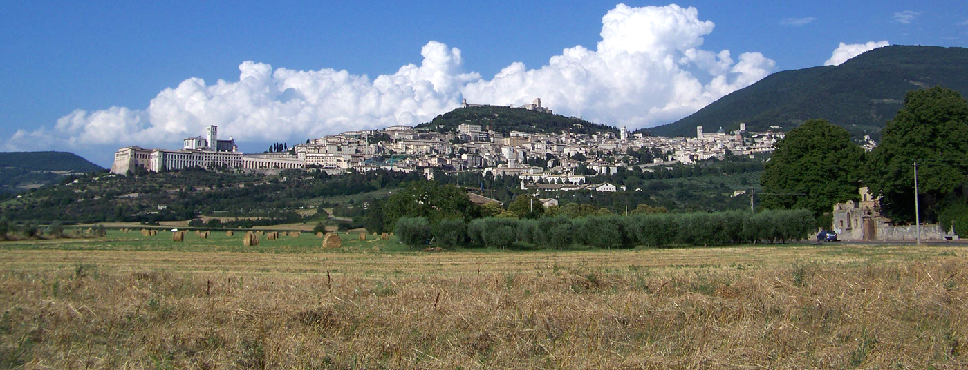 Magnifica vista su <strong>Assisi</strong>